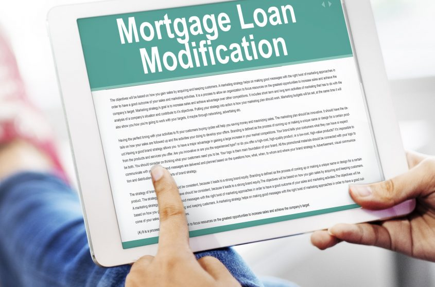 loan modification 4 ways