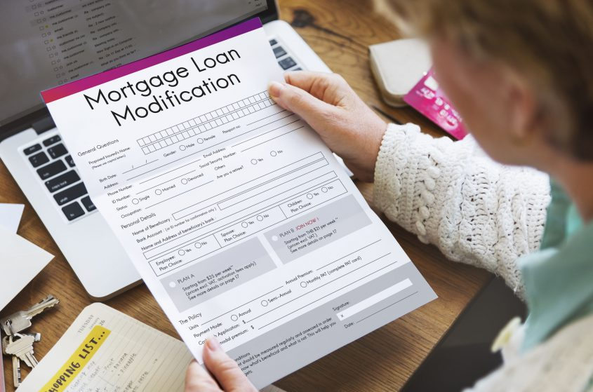 types of loan modifications for mortgages