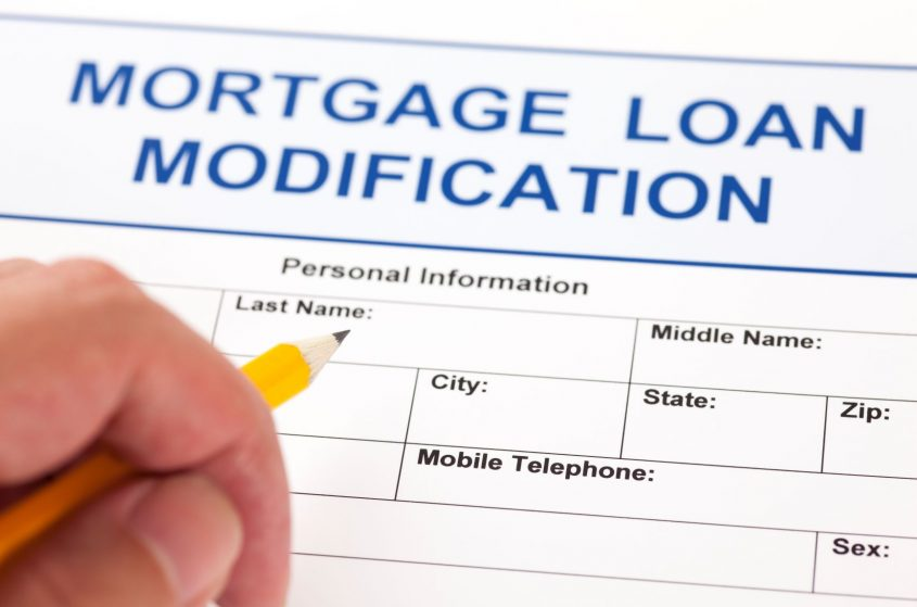 mortgage loan modification